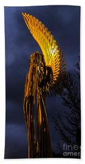 Angel Of The Morning Beach Towel by Steve Purnell