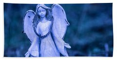 Angel Of The Rain Beach Towel