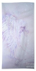 Beach Sheet featuring the painting Angel by Sandra Phryce-Jones