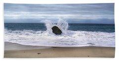 Angel Wing Waves Beach Sheet