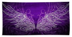 Angel Wings Royal Beach Towel