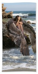 Angels- God Has Sent His Spirit To Comfort You And Heal You Beach Towel