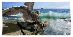 Angels- Yes I'm With You Beach Towel