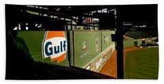 Angles Fenway Park  Beach Sheet by Iconic Images Art Gallery David Pucciarelli