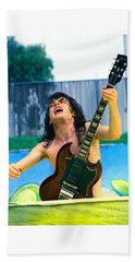Angus Young Of A C D C At Day On The Green Monsters Of Rock  7-21-79  Beach Sheet