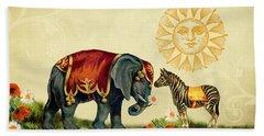 Animal Love Beach Sheet