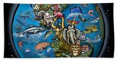 Animal Planet Beach Towel