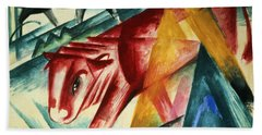 Animals, 1913 Wc On Paper Beach Towel