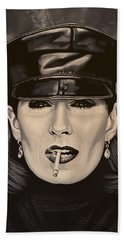 Anjelica Huston Beach Towel