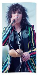 Ann Wilson Of Heart At 1981 Day On The Green In Oakland Ca Beach Towel