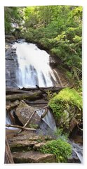 Anna Ruby Falls - Georgia - 4 Beach Towel by Gordon Elwell