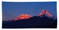 Annapurna South Massif Beach Towel