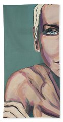 Annie Lennox Talk To Me Beach Towel