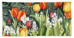 Ann's Tulips Beach Sheet