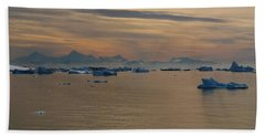 Antarctic Ice Beach Towel