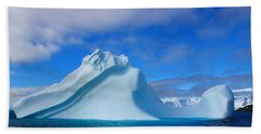 Antarctic Iceberg Beach Towel