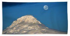 Antarctic Moon Beach Towel