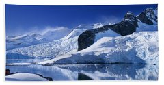 Antarctic Paradise Beach Towel