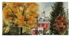 Antebellum Autumn Ironton Missouri Beach Sheet by Kip DeVore