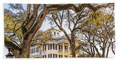Antebellum Mansion Beach Sheet