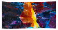 Antelope Canyon Light Beach Towel