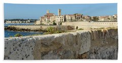 Antibes France Beach Towel