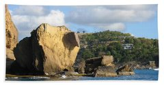 Antigua - Aliens Beach Towel by HEVi FineArt