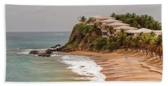 Antigua Coastline Beach Towel
