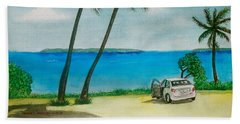 Antigua Beach Sheet by Frank Hunter