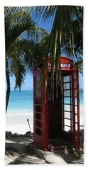 Antigua - Phone Booth Beach Sheet