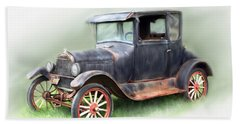 Antique Car Beach Sheet