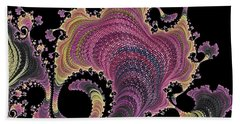 Beach Towel featuring the digital art Antique Tapestry by Susan Maxwell Schmidt
