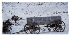 Antique Wagon Beach Sheet
