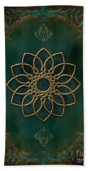 Antique Wall Mural Beach Towel