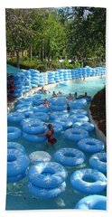Beach Towel featuring the photograph Any Spare Tubes by David Nicholls