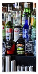 Beach Sheet featuring the photograph Anyone For A Drink 2 by Maj Seda