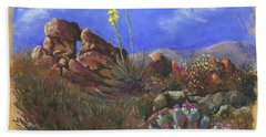 Anza Borrego April Beach Towel