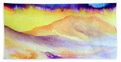 Anza Borrego  Beach Towel