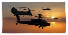 Apache Escort  Beach Towel