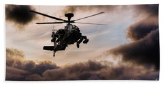 Apache Warrior  Beach Towel
