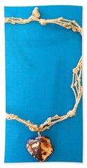 Aphrodite Morpho Necklace Beach Towel