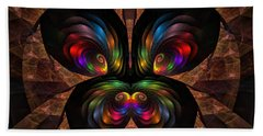 Beach Sheet featuring the digital art Apo Butterfly by GJ Blackman