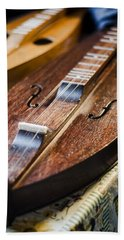 Appalachian Dulcimer Beach Towel