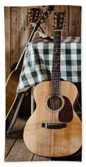 Appalachian Music Beach Towel by Heather Applegate