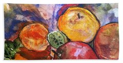 Appetite For Color Beach Towel
