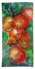 Apples Beach Sheet by Jasna Dragun