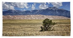 Approaching Great Sand Dunes #3 Beach Towel
