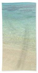 Aqua Blue Waters Beach Towel