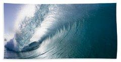 Aqua Curl Beach Sheet