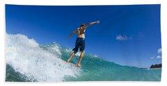 Aqua Glide Beach Towel